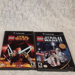 Nintendo Gamecube Lego Star Wars Original and II